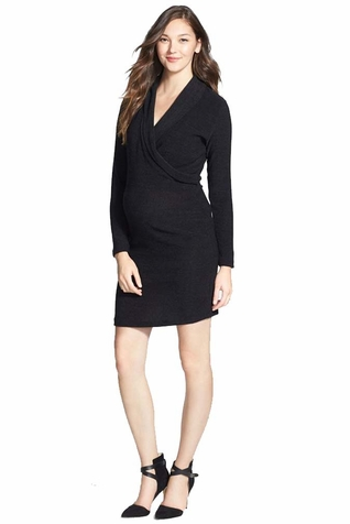 SOLD OUT Japanese Weekend Job Promo Maternity Nursing Sweater Dress
