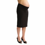 Japanese Weekend Ok Bengaline Slim Maternity Pencil Skirt