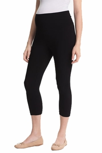 Japanese Weekend OK Cotton Underbelly Capri Stretch Maternity Legging