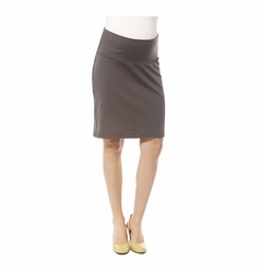 Japanese Weekend Ponte Maternity Career Skirt