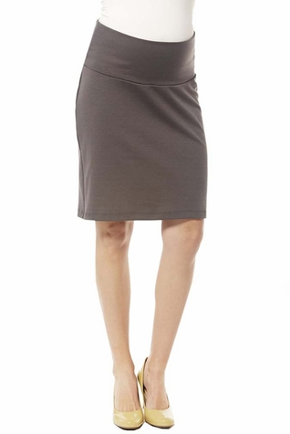 SOLD OUT Japanese Weekend Ponte Maternity Career Skirt