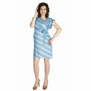 Japanese Weekend Summer Sweater Maternity Dress With Slip