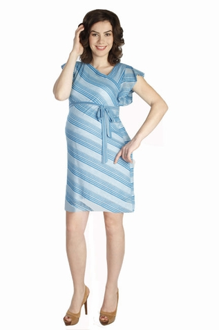 SOLD OUT Japanese Weekend Summer Sweater Maternity Dress With Slip
