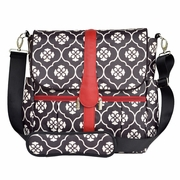 JJ Cole Collection Backpack Diaper Bag - Black Floret