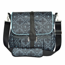 SOLD OUT JJ Cole Collections Backpack Diaper Bag - Blue Flare