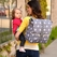 SOLD OUT JJ Cole Collections Backpack Diaper Bag - Grey Floret