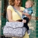 SOLD OUT JJ Cole Collections Cadence Shoulder Diaper Bag - Ash Woodland