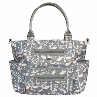 SOLD OUT JJ Cole Collections Caprice Tote Diaper Bag - Ash Woodland