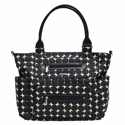 JJ Cole Collections Caprice Tote Diaper Bag - Silver Drop