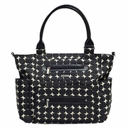 SOLD OUT JJ Cole Collections Caprice Tote Diaper Bag - Silver Drop