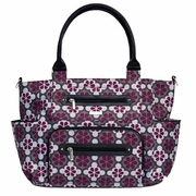 SOLD OUT JJ Cole Collections Caprice Tote Diaper Bag - Vintage Poppy