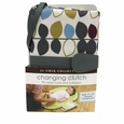 JJ Cole Collections Diaper Changing Clutch - Mixed Leaf