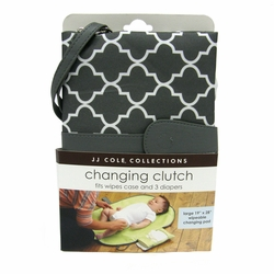 TEMPORARILY OUT OF STOCK  JJ Cole Collections Diaper Changing Clutch - Stone Arbor