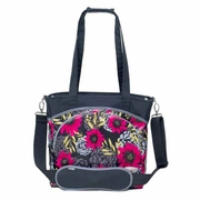 SOLD OUT JJ Cole Collections Mode Tote Diaper Bag-Midnight Dahlia