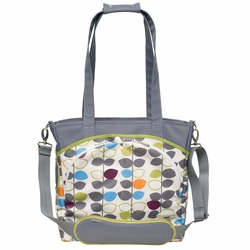 JJ Cole Collections Mode Tote Diaper Bag - Mixed Leaf