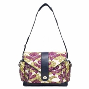 JJ Cole Collections Myla Diaper Bag - Boysenberry Fleur