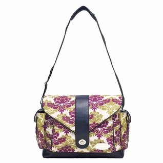 SOLD OUT JJ Cole Collections Myla Diaper Bag - Boysenberry Fleur