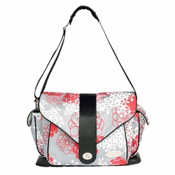 SOLD OUT JJ Cole Collections Myla Diaper Bag - Cherry Lotus