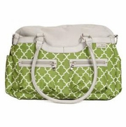JJ Cole Collections Satchel Diaper Bag - Aspen Green Arbor