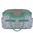 JJ Cole Collections Satchel Diaper Bag - Azure Infinity