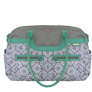 SOLD OUT  JJ Cole Collections Satchel Diaper Bag - Azure Infinity