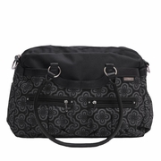 JJ Cole Collections Satchel Diaper Bag - Charcoal Infinity