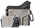 JJ Cole Collections System 180 Bag-Black Stitch Diaper Bag