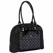 JP Lizzy Cate Tote Diaper Bag - Black Tea