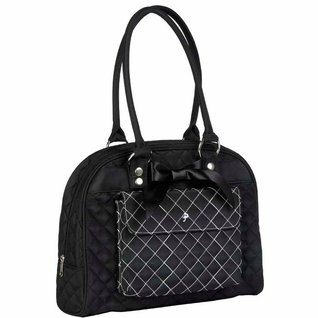 SOLD OUT JP Lizzy Cate Tote Diaper Bag - Black Tea