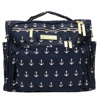 Ju-Ju-Be B.F.F. Tote/Backpack Style Diaper Bag - Legacy The Admiral