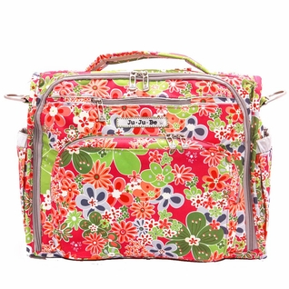 SOLD OUT Ju-Ju-Be B.F.F. Tote/Backpack Style Diaper Bag - Perky Perennials