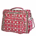Ju-Ju-Be B.F.F. Tote/Backpack Style Diaper Bag - Pink Pinwheels