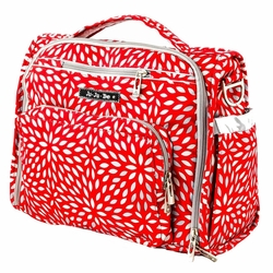 Ju-Ju-Be B.F.F. Tote/Backpack Style Diaper Bag - Scarlet Petals
