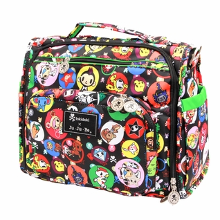 SOLD OUT Ju-Ju-Be B.F.F. Tote/Backpack Style Diaper Bag - Tokidoki Bubble Trouble