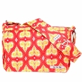 Ju-Ju-Be Be All Messenger Style Diaper Bag - Coral Kiss