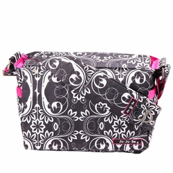 Ju-Ju-Be Be All Messenger Style Diaper Bag - Shadow Waltz