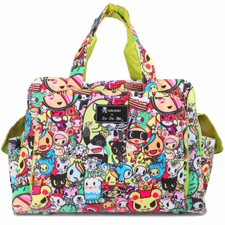 Ju-Ju-Be Be Prepared Diaper Bag - Tokidoki Iconic