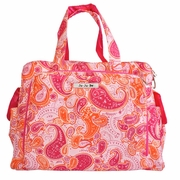 Ju-Ju-Be Be Prepared Messenger/Tote Diaper Bag - Perfect Paisley
