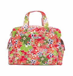 Ju-Ju-Be Be Prepared Messenger/Tote Diaper Bag - Perky Perennials