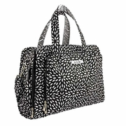 Ju-Ju-Be Be Prepared Messenger/Tote Diaper Bag - Platinum Petals