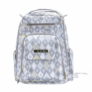 SOLD OUT Ju-Ju-Be Be Right Back Backpack Style Diaper Bag - Silver Ice