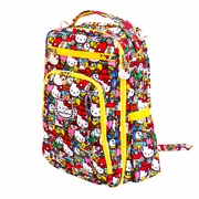 Ju-Ju-Be Be Right Back Backpack Style Diaper Bag - Hello Kitty Tick Tock