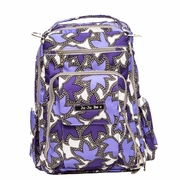 Ju-Ju-Be Be Right Back Backpack Style Diaper Bag - Lilac Lace