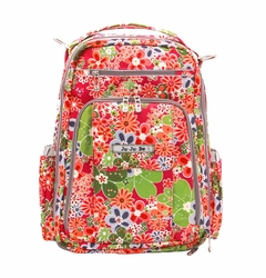 Ju-Ju-Be  Be Right Back Backpack Style Diaper Bag - Perky Perennials