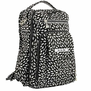 TEMPORARILY OUT OF STOCK  Ju-Ju-Be Be Right Back Backpack Style Diaper Bag - Platinum Petals