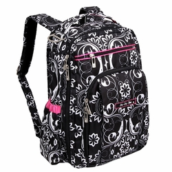 Ju-Ju-Be Be Right Back Backpack Style Diaper Bag - Shadow Waltz