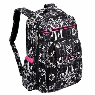 SOLD OUT Ju-Ju-Be Be Right Back Backpack Style Diaper Bag - Shadow Waltz