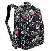 TEMPORARILY OUT OF STOCK Ju-Ju-Be Be Right Back Backpack Style Diaper Bag - Shadow Waltz