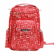 Ju-Ju-Be Be Right Back Backpack Style Diaper Bag - Syrah Syrah