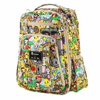 SOLD OUT Ju-Ju-Be Be Right Back Backpack Style Diaper Bag - Tokidoki Animalini